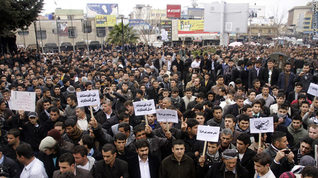 Protest in Sulamaniyah