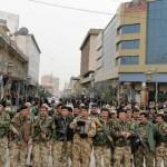 Militia in Sulaymani  during 2011 uprising