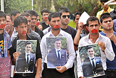 Protest following the murder of Sardasht Osman