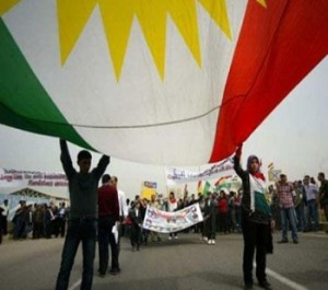 syrian kurds protest
