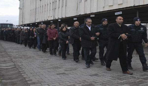 KCK supporters under arrest