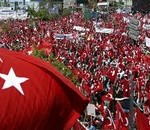 Secular rally in Turkey, 2007