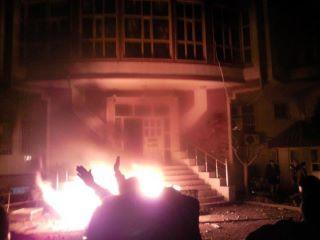 Burning of KIU office in Zakho, December 2011