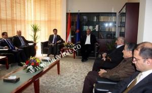 KRG PM meets Gorran leaders. Photo - Hawlati