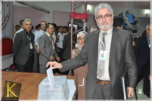 Mohamed Faraj, new KIU leader (Photo - Kurdiu.org)