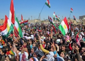 Kurds in west Kurdistan