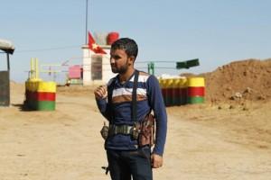 PYD checkpoint in Western Kurdistan
