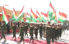 Peshmerga forces, south Kurdistan
