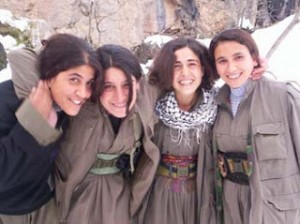 As a liberation movement, the PKK has embraced the equality of women and men