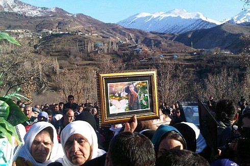Relatives at 1st anniversary commemoration, photo - bianet