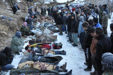 Roboski massacre victims, December 2011