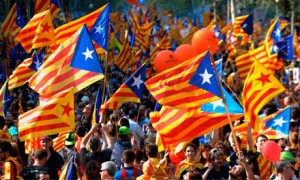 Catalan flags