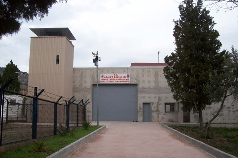 Imrali prison where Ocalan is serving a life sentence