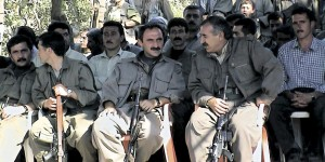PKK fighters in the Kandil