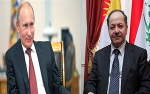 Putin and Barzani