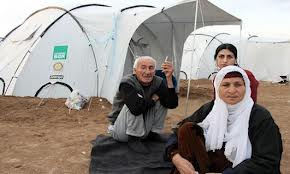 Refugees from West Kurdistan