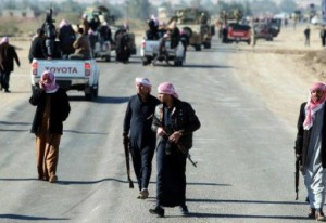 Rebels control the main roads in Sleman Beg