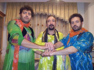 Three Kurd men