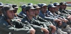 Peshmarga forces
