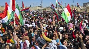 Syrian Kurd protest, 2012