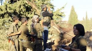 Kurd YPG fighters are resisting the jihadists; Photo - Reuters