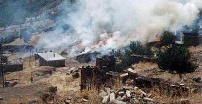 Air attack, 1994; Pic BIA