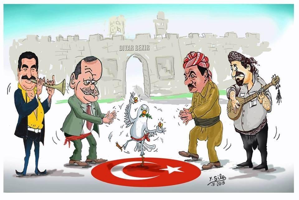 Barzani meets Erdgoan in Amed