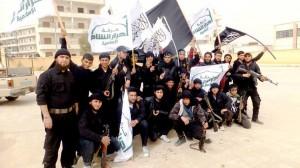 Ahrar Islam fighters in Syira