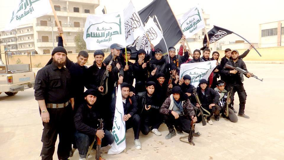 Ahrar Islam fighters