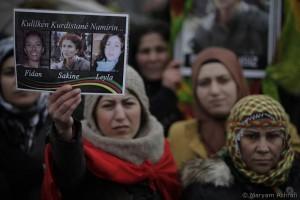 Kurds demand justice; Photo - Maryam Ashrāfi