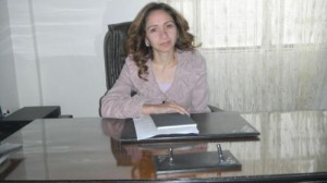 Rufind Xelef, president of the Cizîre Canton's Women's Legislative Committee