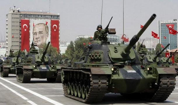 Military parade Ankara, 2008