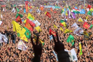 Kurds celebrate Newroz in Amed, 2014 (photo ANF)