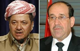 Barzani and Maliki