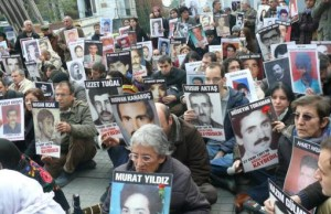 Families of the disappeared hold regualr protests