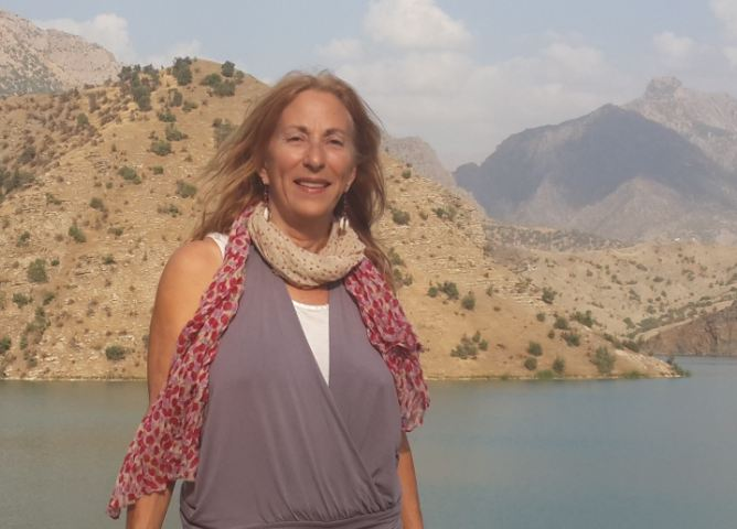 Amy L. Beam, Hilal Lake, Uludere, Sirnak, SE Turkey