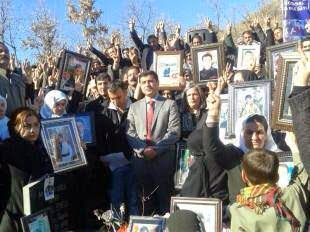 Kurd civilians and BDP politicians commemorate to Roboski 2011 air strike