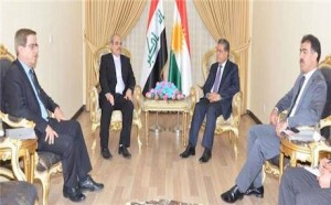 Meeting between KRG and Iranian officials. Pic - DFR.KRG