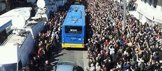 What will you do if the buses are rented by police, or full, or not operating, or roads are blocked?   Allow extra time to walk through crowds and long detours.  Get the elderly and infirm to the polls early.  Maybe use a wheel chair.  If traveling by bus to Agri, buy your bus ticket now.