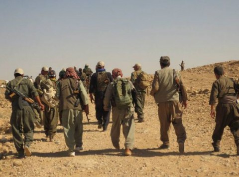'Maxmur Defense Force' fighters have re-taken the town; Pic Rojava Report