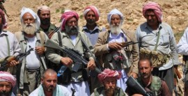 Yezidi resistance fighters; Pic - Firat News
