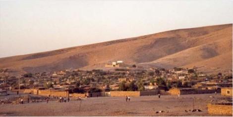 Mahmur Camp in Kurdistan, Iraq, established 1994 by UNHCR for Kurdish refugees fleeing Turkey village evacuations