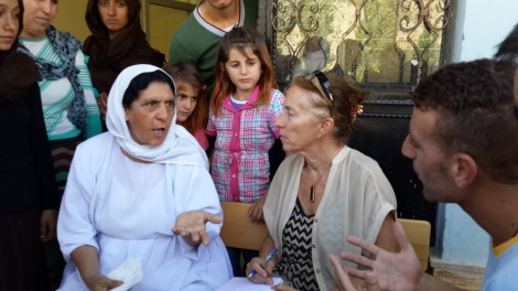 Yezidi mother at Hilal school describes how ISIS killed son