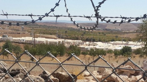 A reported 2700 Yezidis are in Midyat camp behind fences.  No one is allowed to visit
