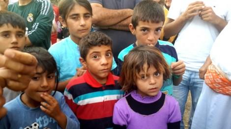 More than half the Shengal Yezidis in Diyarbakir Fidanlik camp are children