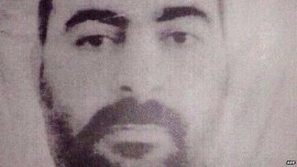 IS  leader Baghdadi, who met with US Senator John McCain in 2011
