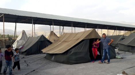 The people remaining in tents will move indoors before winter
