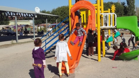 Bismil has a playground, but no indoor facilities, only an open roof