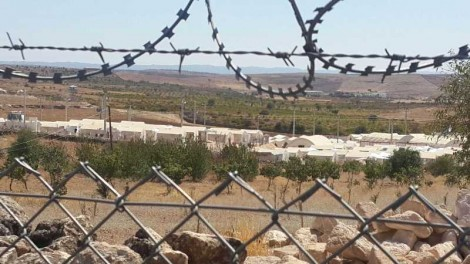 Midyat refugee camp for Yezidis is run by the Turkish government