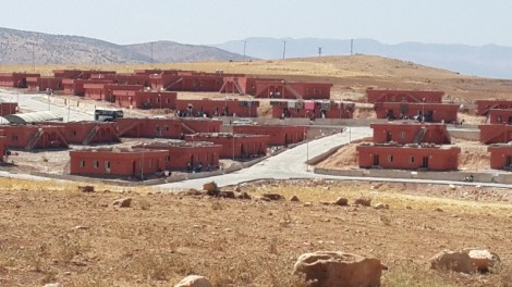 Koçer village houses 800 Yezidis 5 km from Siirt. Every family has a house, food, electricity